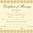marriage certificate template elegant marriage certificate template golden edition