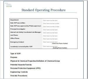 master schedule template best standard operating procedure sop templates within standard operating procedures template