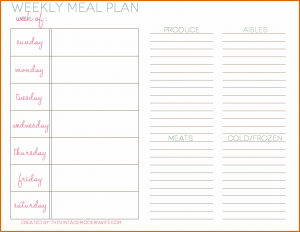 meal calendar template daily meal plan template vmw weekly meal plan