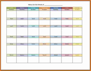 meal calendar template menu planning template menu planner template ghogp