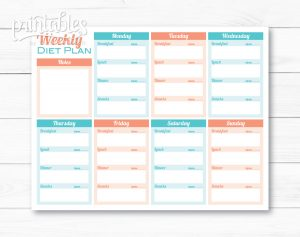 meal plan template pdf il fullxfull wfo