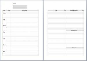 meal plan template pdf tmweekviewundated copy