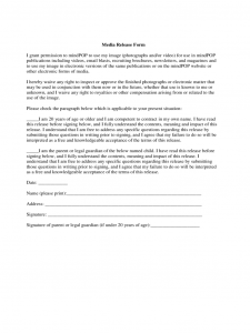 media release form media release form free templates in pdf word excel download with media release form template
