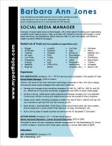 medical assistant resume sample social media manager resume sample