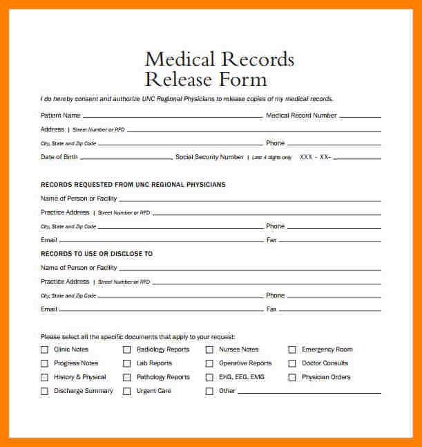medical cv template