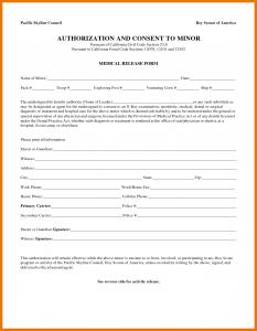 medical release form for child medical release form for child child medical release form
