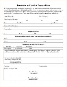medical release form for grandparents medical consent letter for grandparents