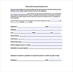 medical release form pdf personal ups signature release form free download