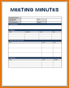 meeting minute template word meeting minutes templates meeting minutes template