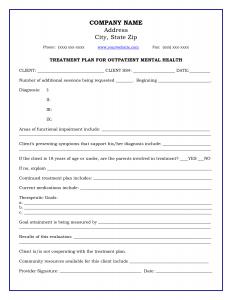 mental health treatment plan template download treatment plan template bosxgdky
