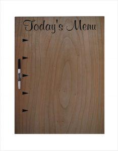 menu board template large dry erase board template download