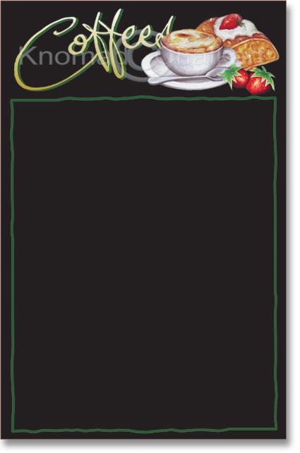 menu board template