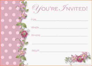menu for baby shower th birthday invitation templatestes free party invitation templates letterhead template sample