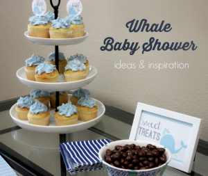 menu for baby shower whale baby shower ideas