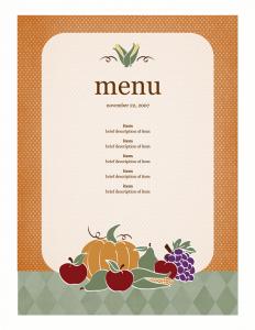 menu template free ddceaddft