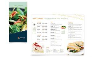 menu template free free sample menu template s