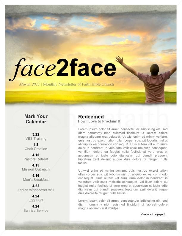 microsoft publisher newsletter templates
