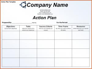 microsoft word memo templates action plan template free