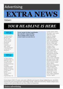 microsoft word newspaper template word newspaper template