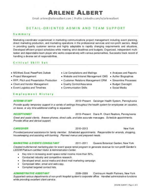 microsoft word template resume