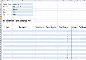 mileage tracker excel e rent rentals detail spreadsheet