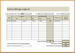mileage tracker excel mileage log book vehicle mileage logbook