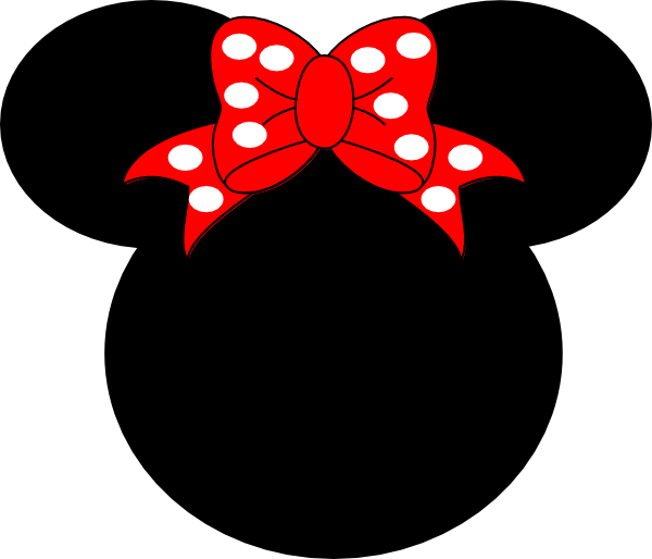 minnie mouse silhouette
