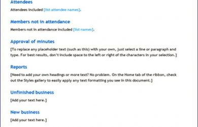 minutes of meeting meeting minutes new