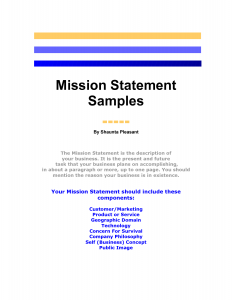 mission statement template mission statement template fqooxah