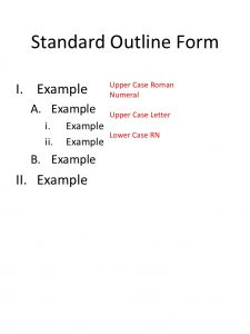 mla format outline template outlining protocols