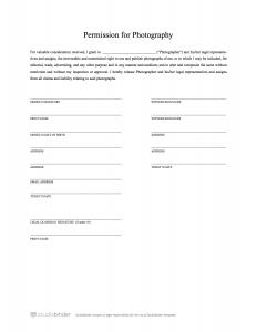 model release form simple model release template studiobinder