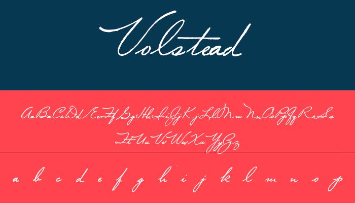 Modern Cursive Font | Template Business