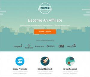 modern website templates mypro affiliate unbounce landing page template x