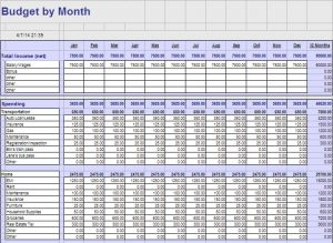 monthly budget templates google drive templates