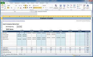 monthly employee schedule template excel work schedule template excel employee schedule template wsvkun