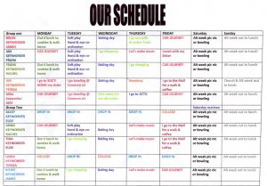 monthly employee schedule template schedule web