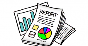 monthly expense report status report