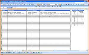 monthly expense spreadsheet monthly spending spreadsheet household expenses