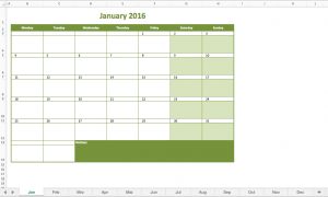 monthly schedule template excel monthly calendar