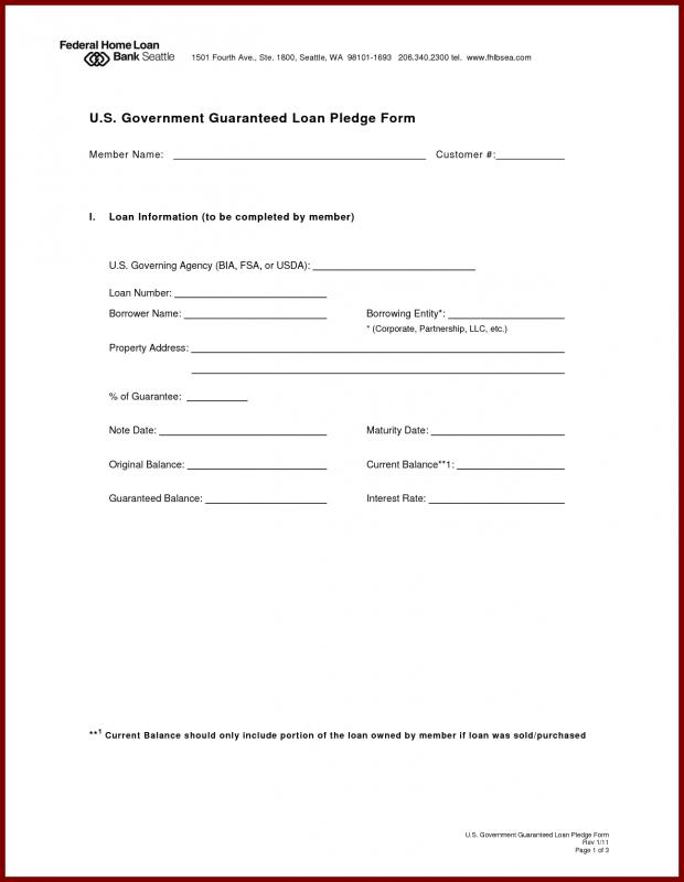 mortgage note form
