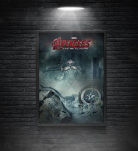 movie poster template free avengers movie poster mockup
