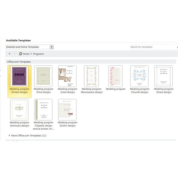 ms publisher templates