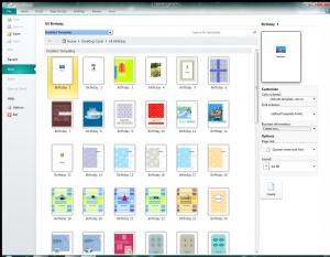 ms publisher templates publishergreetingcardsallbirthday