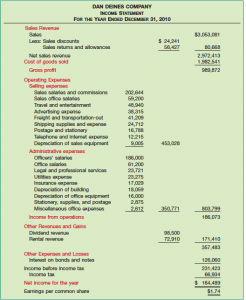 multi step income statement example multi step income statement cyree