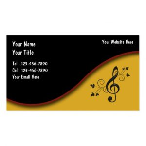 music business cards music business cards rdafaeaadbbf it byvr