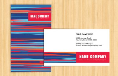 name card template name card sample