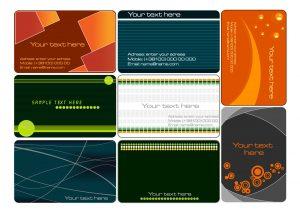 name card template namecard