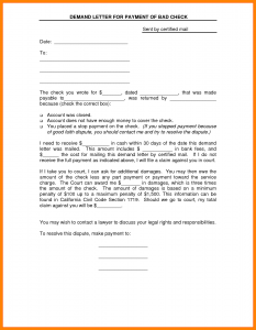 nanny contract template demand letter for payment demand letter for payment template
