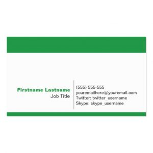 networking business card personal networking business cards in green raeddcbdadfb id byvr