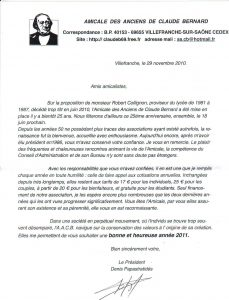 news article format lettre president aacb